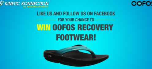 Win Oofos Recovery Footwear